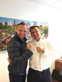 Mikkel Kessler og Rygspecialist Dr. Schubert